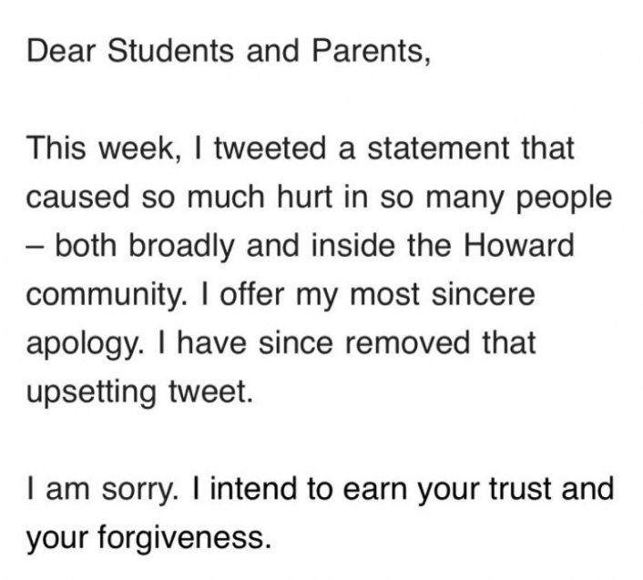 Image: Phylicia Rashad Apologizes to Howard Students for Bill Cosby Support Tweet Image #2