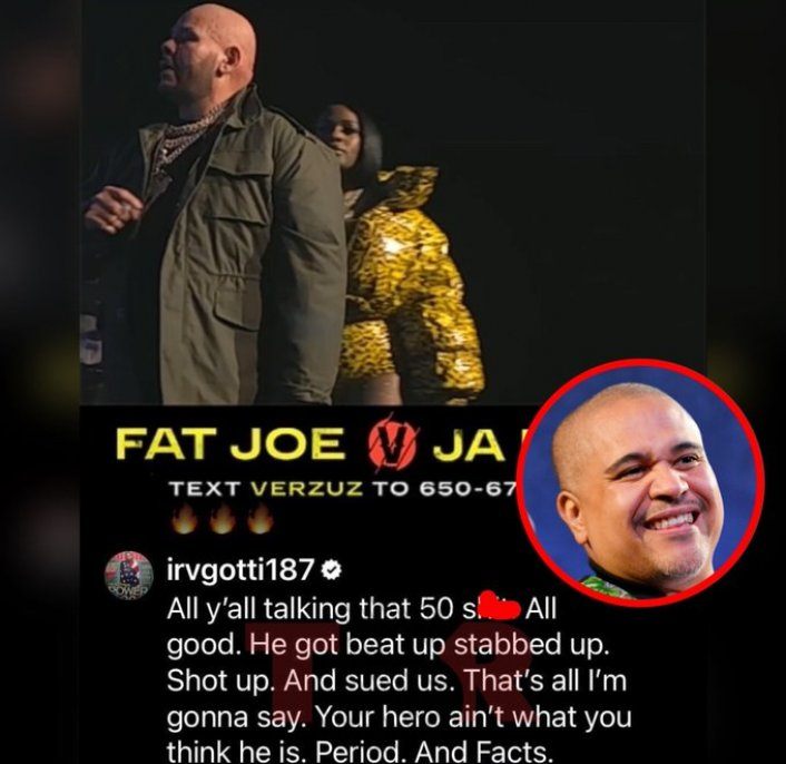 Image: Irv Gotti Goes at Trolls Mentioning 50 Cent During Fat Joe and Ja Rule 'Verzuz' Image #2