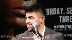 Victor Ortiz Talks About Losing To Floyd Mayweather Again