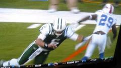 Mark Sanchez Gets Super Punked During Game