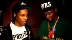 A$AP Rocky & Theophilus London Record New Track in NYC