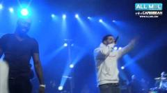 Drake Hits the Stage with Mavado in Paris
