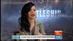 Rihanna Flips During Interview when Asked About Ashton