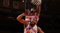 Check Out John Wall's Mean Ally-oop Slam On Baron Davis!
