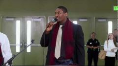 Metta W. Peace Gives Inspiring Speech to High School