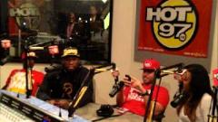 50 Cent & DJ Drama Discuss Mixtape Release On Hot 97
