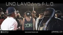 KOTD Vendetta Rap Battle: Uno Lavoz vs F.L.O