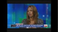 Stacey Dash Defends Her Decision to Vote for Mitt Romney