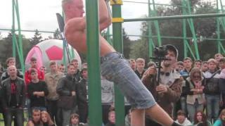 Calisthenics Kingz Take on Moscow Street Workout Competition