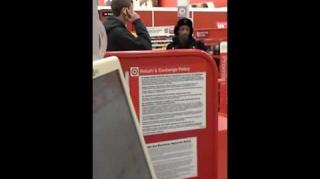 Target Employee Reacts to Being Slapped by Katt Williams