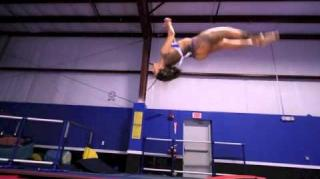 Wankaego, Ochocinco's Jump Off, Has Crazy Gymnastic Skills!