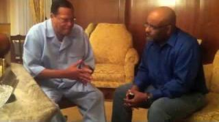 "Minister Farrakhan Gives His Thoughts On ""Django Unchained"""