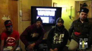 Kay Shine & His Zip 'Em Up Gang Spit Fire In New Cypher