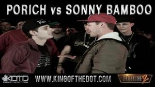 KOTD Flatline 2 Battle: Sonny Bamboo vs Porich