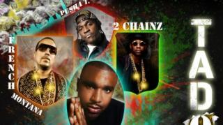 "P.A.P.I. Ft. 2 Chainz, Pusha T, French Montana - ""Tadow"""
