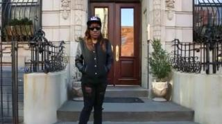 Biggie's Daughter Tours Her Father's Neighborhood