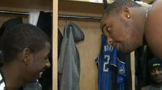 Glen Davis Punks Magic Rookie Over a PB&J Sandwich!