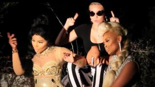 "Exclusive! Lil Kim & Miley Cyrus Turn Up BTS of ""Twisted"" Video"
