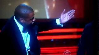 Jay-Z Clowns The Dream At The Grammy Awards!