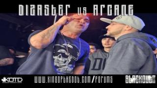 KOTD Title Match Battle: Dizaster vs Arcane
