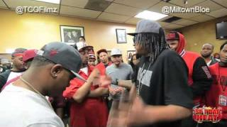 Spit Dat Heat Battle: MiltownBloe vs King Beanz