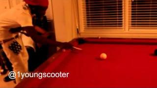 Zaytoven Defeated by Young Scooter in Heated Pool Game
