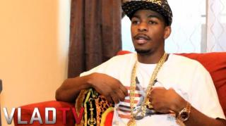 Exclusive! King Los on Lola Monroe Rapping & Relationship