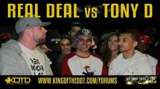 KOTD Rap Battle: Real Deal vs Tony D