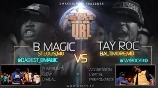 Smack/URL Battle: Tay Roc vs B Magic