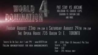 KOTD World Domination 4 Reveals Title Match (Official Trailer)