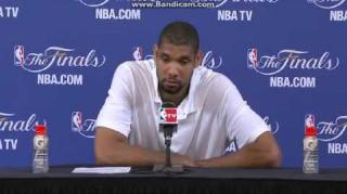 Tim Duncan Speaks on Missing Game-Tying Layup