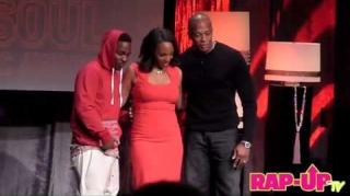 Dr. Dre Presents Kendrick Lamar With the ASCAP Vanguard Award