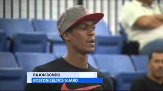 Rondo Says He'll Never Play for the Miami Heat