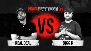 Rap Battle Network Battle: Real Deal vs Bigg K