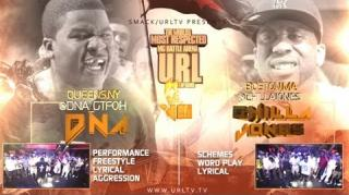 Smack/URL N.O.M.E. 3 Battle: DNA vs Chilla Jones