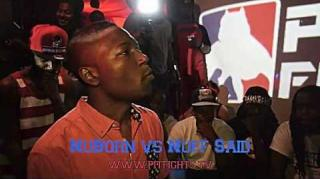 Pit Fights Battle: NuBorn vs Nuff Said