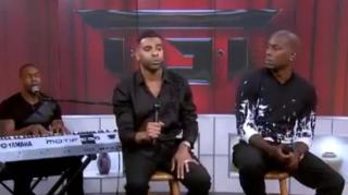 Tyrese Looks Enraged at Ginuwine During Live TV Performance