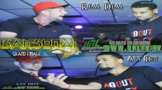 Go Hard Or Go Home Battle: Real Deal vs Aye Dot