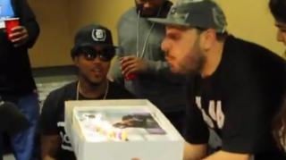DJ Vick One Explains Why He Blew Problem's B-Day Candles Out