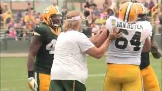 Fists Fly at Green Bay Packers Training Camp