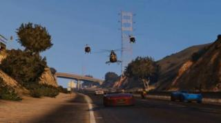 Grand Theft Auto Showcases Stunning Official Online Gameplay