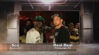 Smack/URL & BET UFF Battle: Real Deal vs Sco