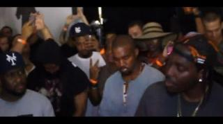 Kanye West Goes on Wild Rant at Pusha T's NYC Listening Party
