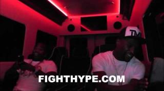 Floyd Mayweather & Adrien Broner Show How They Ride Like a Boss