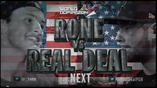 KOTD World Domination 4 Battle: Rone vs Real Deal