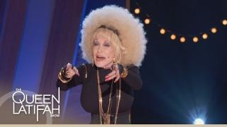 Dolly Parton Does Rap Performance on The Queen Latifah Show
