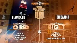 Smack/URL Summer Madness 3 Battle: Big T vs O-Red