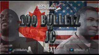 KOTD World Domination 4 Battle: JC vs 100 Bulletz