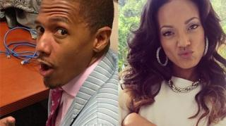 Awkward! Nick Cannon's Run-In With Ex-Fiancee Selita Ebanks