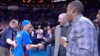 Jay Z Congratulates OKC Thunder Fan for Winning $20K Contest